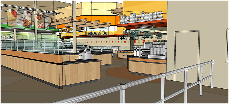 A1 Supermarket Carlton Store Design Project By Supermarket Solutions